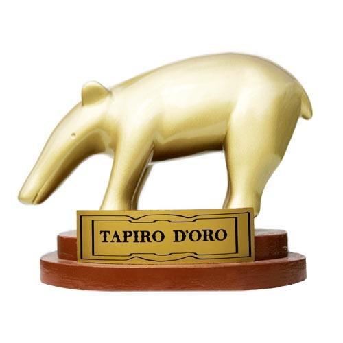 Tapiro d'oro al Colonnello Mario Giuliacci