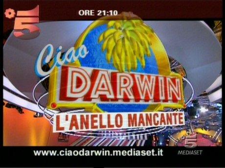 CIAO DARWIN PUNTATA DEL 26 MARZO
