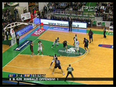 Gara 2 Basket Playoff Serie A1