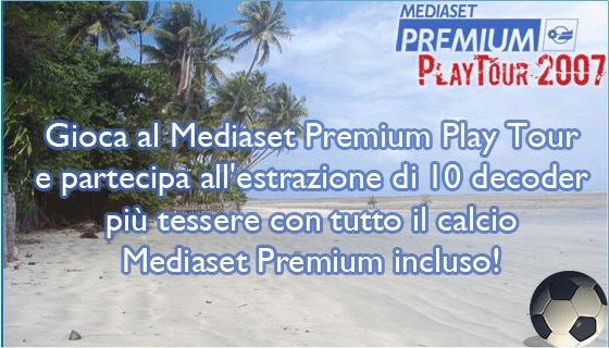 Mediaset Premium Playtour