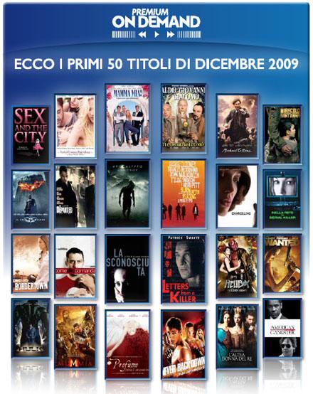 Mediaset premium on demand i primi 50 film disponibili for Premium on demand
