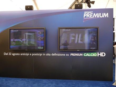 Attivato sul mux DTT Mediaset 1 il canale Premium Calcio HD