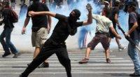 Grecia: irruzione degli studenti in tv, salta il tg della sera