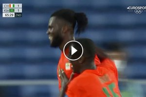 Video Olimpiadi Tokyo 2020 Discovery+   Calcio, Kessie trascina la Costa d'Avorio