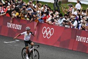 Video Olimpiadi Tokyo 2020 Discovery+ | Ciclismo, il capolavoro di Carapaz