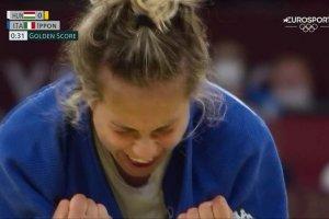 Video Olimpiadi Tokyo 2020 Discovery+ | Judo, Odette Giuffrida BRONZO