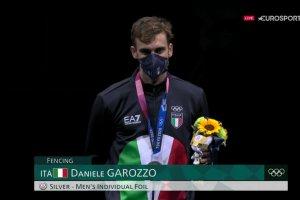 Video Olimpiadi Tokyo 2020 Discovery+ | Il podio argento di Daniele Garozzo