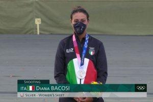 Video Olimpiadi Tokyo 2020 Discovery+ | Il podio argento di Diana Bacosi