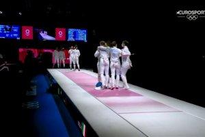 Video Olimpiadi Tokyo 2020 Discovery+ | Schema, Spada a Squadre Femminile BRONZO