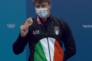 Video Olimpiadi Tokyo 2020 Discovery+ | Nuoto 100 Rana, Nicolò Martinenghi BRONZO