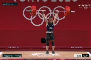 Video Olimpiadi Tokyo 2020 Discovery+ | Sollevamento Pesi, Mirko Zanni BRONZO