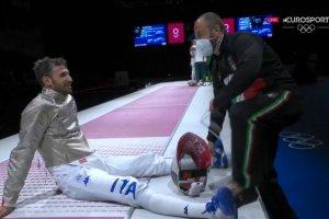 Video Olimpiadi Tokyo 2020 Discovery+   Scherma Sciabola, Samele ARGENTO