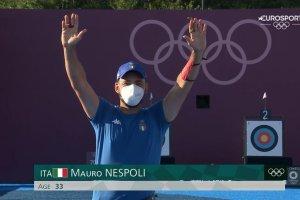 Video Olimpiadi Tokyo 2020 Discovery+ | Tiro Arco, Mauro Nespoli ARGENTO