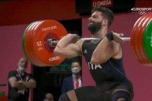 Video Olimpiadi Tokyo 2020 Discovery+ | Sollevamento Pesi, Antonino Pizzolato BRONZO