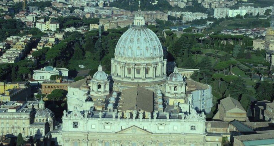 S. Pietro e le Basiliche Papali prossimamente su Sky 3D, il teaser di presentazione