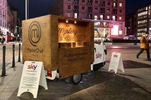 Mystery Box di Masterchef (Sky Uno) in tour tra le strade di Milano