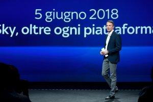 Sky Oltre la Piattaforma - La Presentazione di Andrea Zappia, ad Sky Italia (diretta)