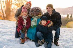 Il ritorno di E.T. protagonista nel video del Natale con SkyQ