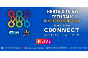 HbbTv & Tv 4.0 Tech Talk 2020 (diretta) | #ForumEuropeo #FED2020