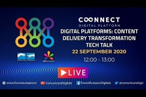 Digital Platforms: Content delivery transformation Tech Talk (diretta) | #ForumEuropeo #FED2020