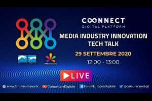 Media Industry Innovation Tech Talk 2020 (diretta) | #ForumEuropeo #FED2020