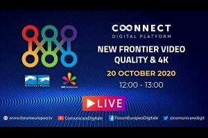 New Frontier Video Quality & 4K Tech Talk (diretta) | #ForumEuropeo #FED2020