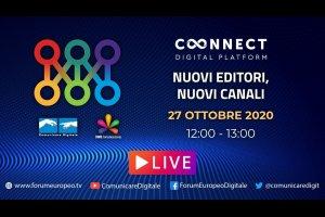 Nuovi Editori, Nuovi Canali Tech Talk (diretta) | #ForumEuropeo #FED2020