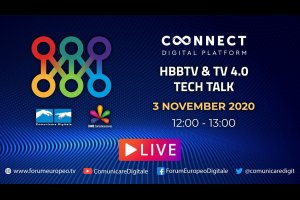 HBBTV & TV 4.0 (#2) Tech Talk (diretta) | #ForumEuropeo #FED2020