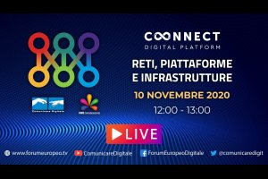 Reti, Piattaforme, Infrastrutture Tech Talk (diretta) | #ForumEuropeo #FED2020