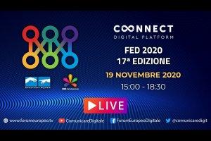 17 Forum Europeo Digitale | Day 1 - Lucca 2020 (diretta) #FED2020