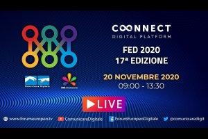 17 Forum Europeo Digitale | Day 2 - Lucca 2020 (diretta) #FED2020