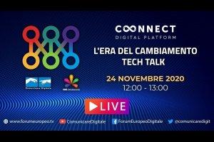 L'Era del Cambiamento Tech Talk (diretta) | #FED2020