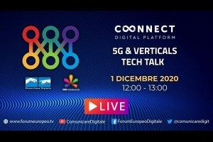 5G & Verticals Tech Talk (diretta) | #FED2020