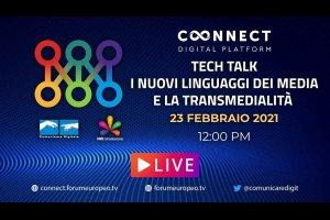 Nuovi Linguaggi dei Media e la Transmedialita Tech Talk (diretta)