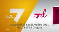Roma, 13-19 giugno: su La7 e La7d i Mondiali di Beach Volley