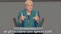 Italialand - Angela ''Crozza'' Merkel risponde per le rime a Berlusconi