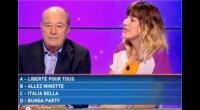 Francia, satira in un quiz tv sul ''nuovo nome'' del partito di Berlusconi