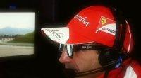 Formula 1, il team Sky Sport durante la telecronaca dei test in 3D