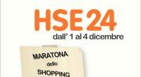 Prosegue fino al 4 Dicembre su HSE24 la Maratona dello Shopping
