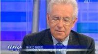 Mario Monti a UnoMattina: ''Mio nipote a scuola lo chiamano spread''