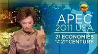 Russia, conduttrice tv alza il dito medio rivolto ad Obama