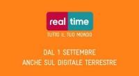 1 Settembre 2011, Real Time compie il primo anno sul digitale terrestre