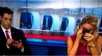 Sky Sport UK, conduttori in onda per errore: lei si trucca, lui manda sms