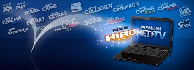 Mediaset Premium, Hiro si trasforma: dal 1° Agosto sarà un canale della Net TV