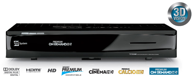 Telesystem ts7500hd mediaset premium on demand digital news for Premium on demand