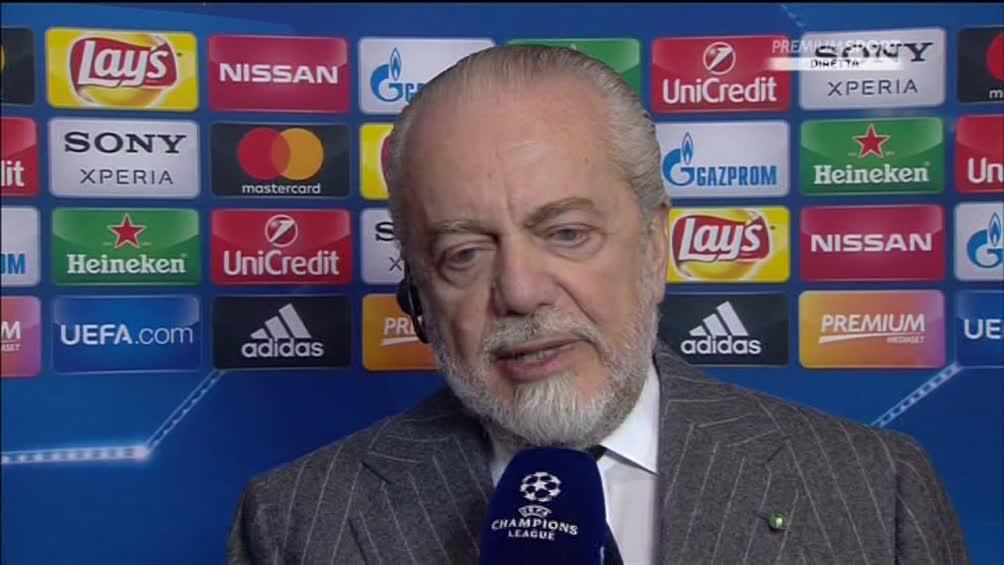 De Laurentiis: «Vendere così i diritti esteri della Serie A è da stupidi e ottusi».