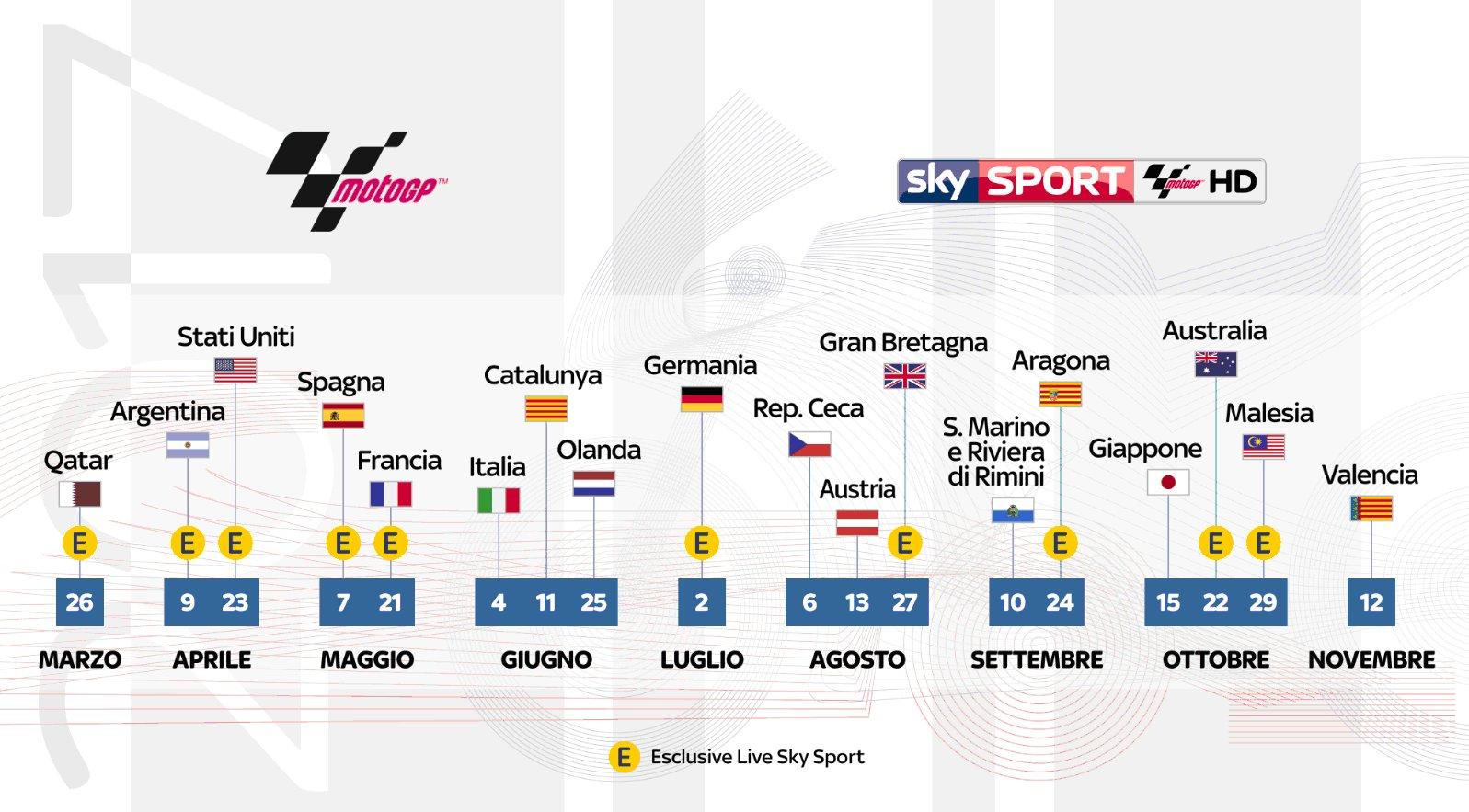 Calendario Motogp 2018 Tv8.Sky Sport Motogp Hd Gp San Marino Palinsesto 7 10