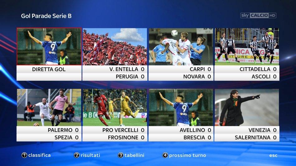 1bdfa2a4b Serie B, Sky Sport Diretta 41a Giornata - Palinsesto e Telecronisti Calcio  #NuovoInizio