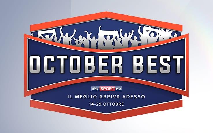 Ascolti al top per October Best di Sky Sport, ricco di grandi eventi