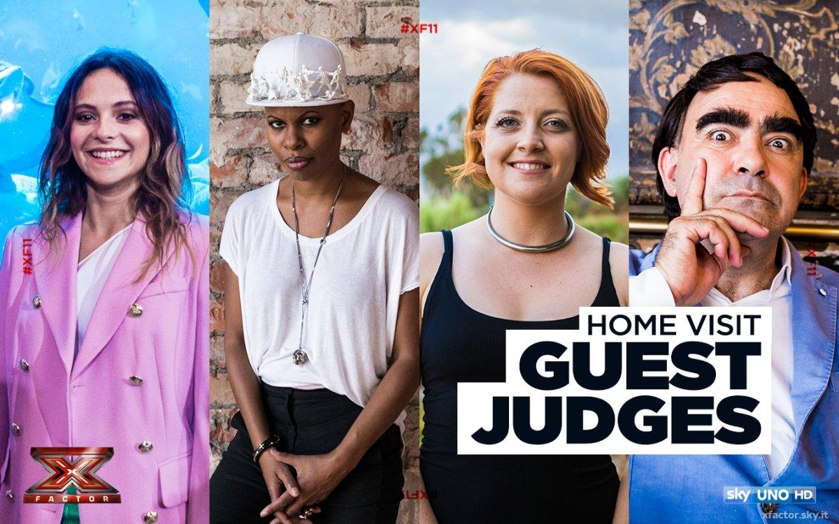 Sky Uno Super HD X Factor 11, gli Home Visit chiudono la fase di selezione